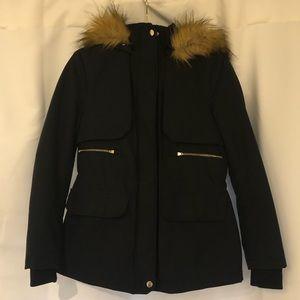 Zara Hooded Puffer Jacket